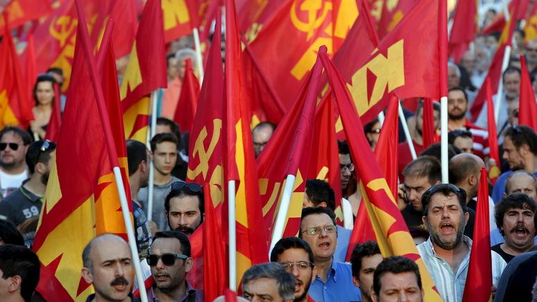 Обозреватель Forbes: беда Греции — не долги, а любовь к коммунизму