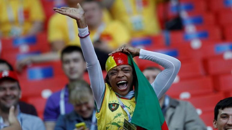 Sky News: болельщики Камеруна и Чили похвалили Россию за тёплый приём