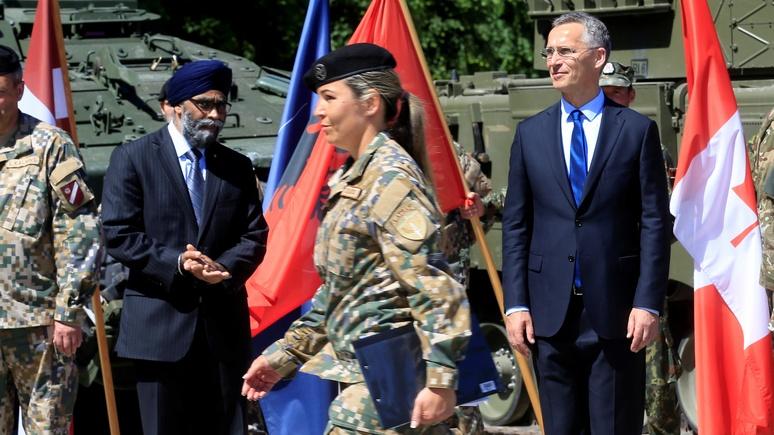 Столтенберг: укрепление восточного фланга НАТО завершено