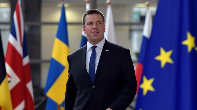 Эстонский премьер назвал нулевыми отношения сРоссией