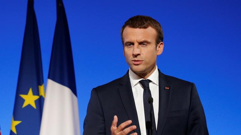 BFM TV: Макрон «меняет доктрину» в Сирии — Париж не будет добиваться ухода Асада