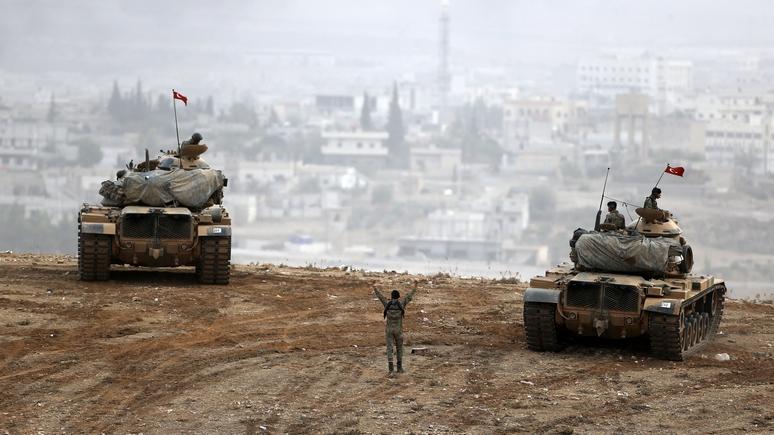 Tagesspiegel: Анкара обострит сирийский конфликт, если нападёт на курдов