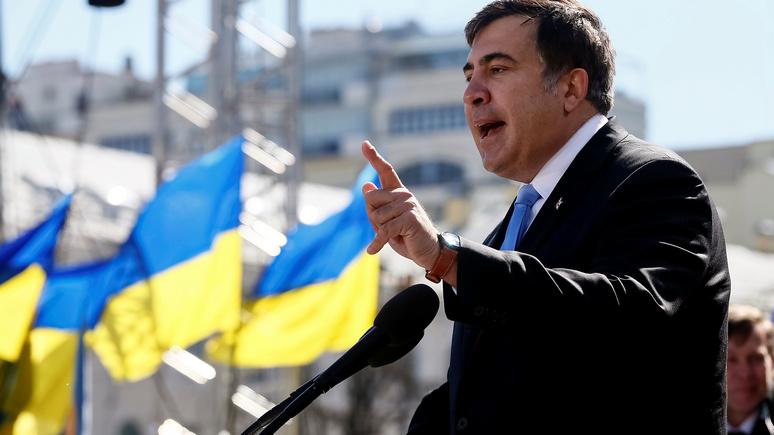 WP: Саакашвили рассказал, как спасёт украинцев от Путина и Порошенко