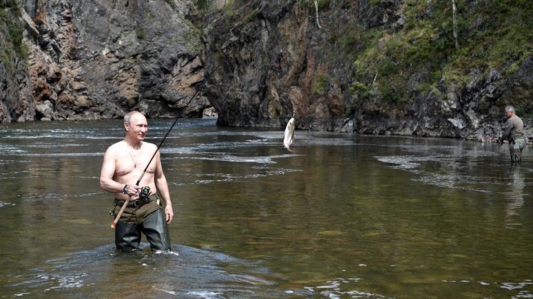 SZ: немецкий эксперт оценил рыболовную технику Путина