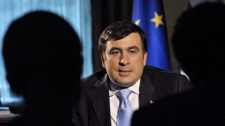 Корреспондент: Саакашвили пообещал очистить Украину от олигархов