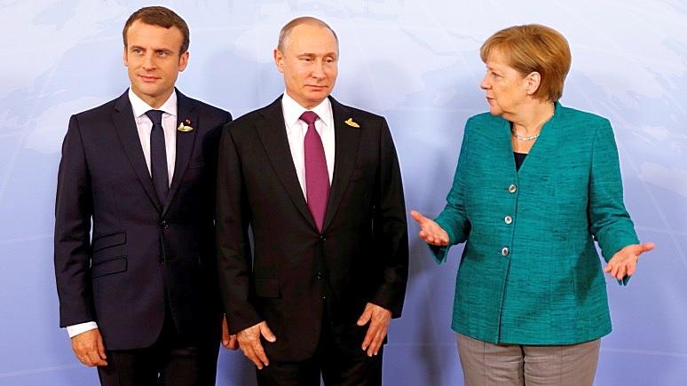 Advance: альянс Европы с Россией не оставит места США в мировом сценарии