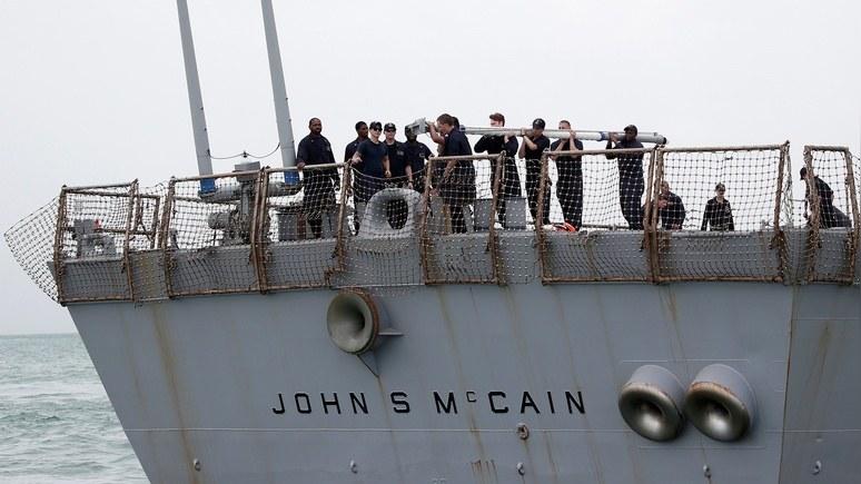 Times: в аварии «Джона Маккейна» подозревают китайских хакеров