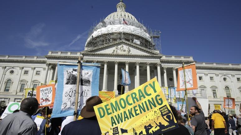FR: бывший вице-президент США назвал настоящих «взломщиков» американской демократии
