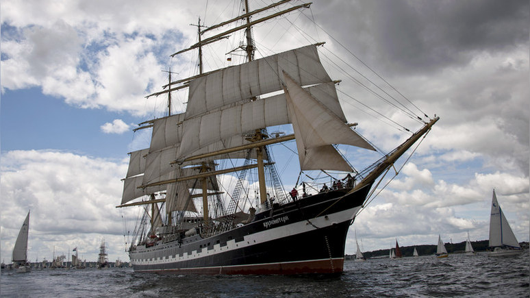 HBL: финны увидели в российском паруснике угрозу для Аландских островов