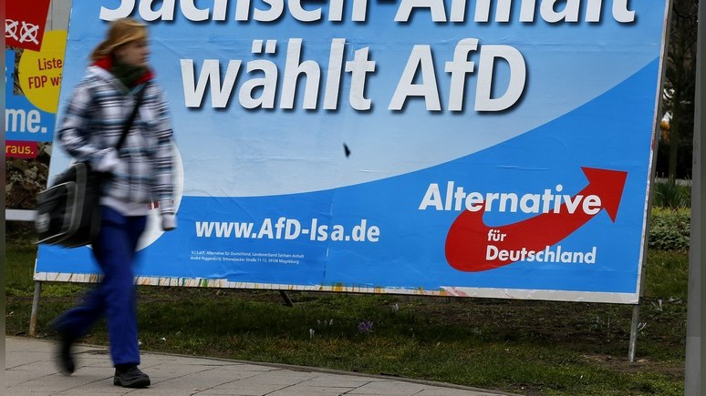 FT: русские немцы не простили Меркель наплыв мигрантов