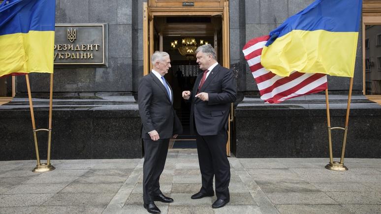 National Interest: летальное оружие США не поможет Украине