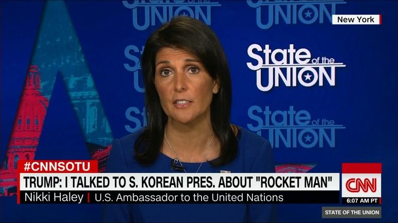 Хейли: если Америке придётся защищаться, Северная Корея будет уничтожена