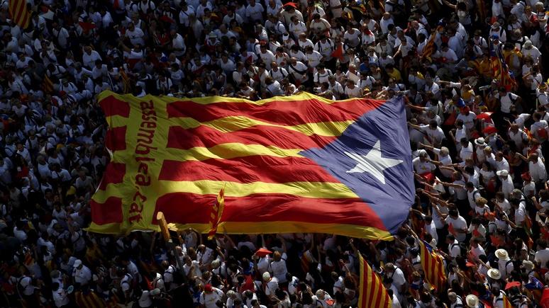 Вице-председатель Европарламента: «сепаратисты» Каталонии используют те же приёмы, что и Россия — ИноТВ