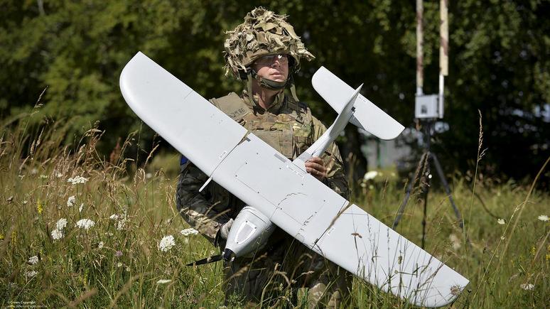 СМИ узнали, что Англия  закупила дроны, которые немогут летать под дождем