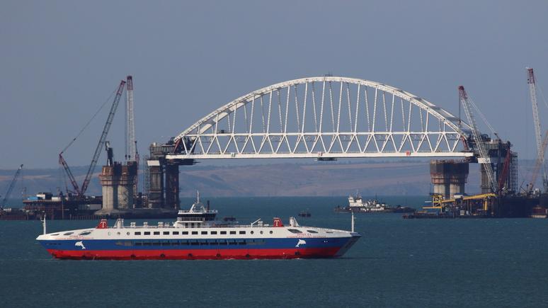 Украина подаст всуд на РФ — Строительство Керченского моста