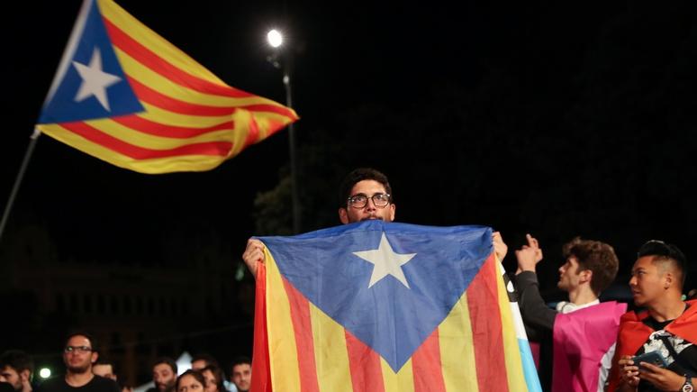 Западные СМИ объявили победу Российской Федерации нареферендуме вКаталонии