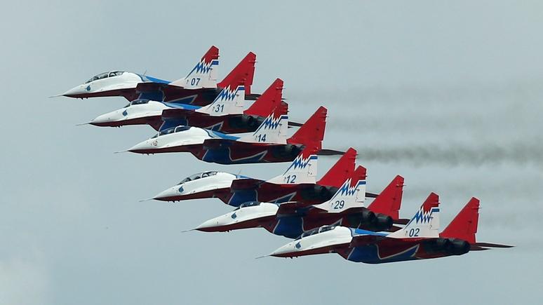 Сербские ВВС получили первые за30 лет самолёты— русские МиГи-29