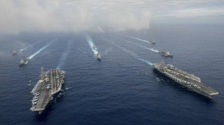 Navy Times: американские моряки у корейских берегов подумывают о самоубийстве