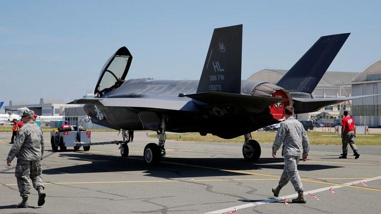 Пентагон намесяц закончил поставки F-35 из-за коррозии
