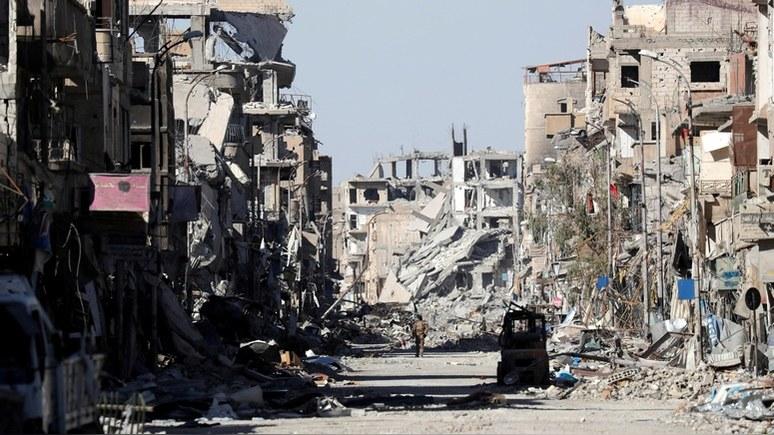 Financial Times: разгром ИГ грозит Сирии новой гражданской войной
