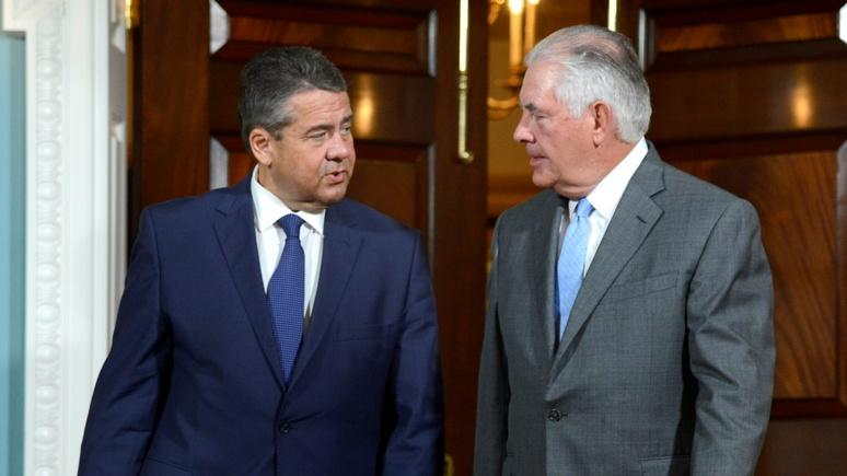 Руководитель МИД ФРГ обсудил вСША ввод миротворцев ООН вДонбасс