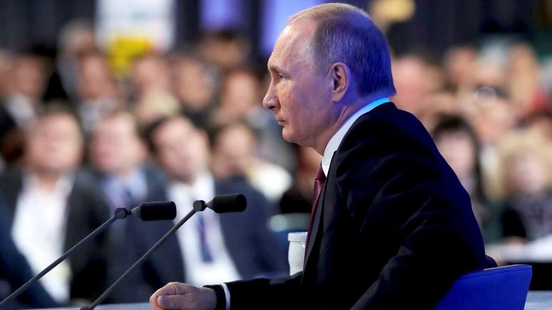 WSJ: на пресс-конференции Путин предстанет лидером «осаждённой крепости»