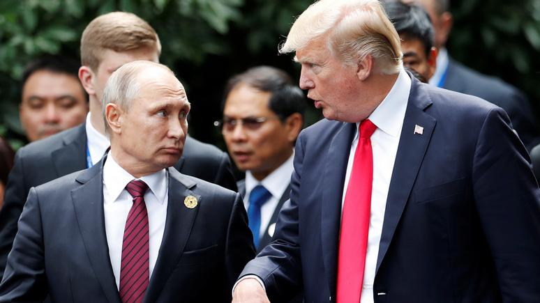 Трампа упрекнули вневыполнении предвыборного обещания осближении сРоссией