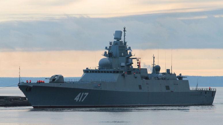 DM: приближение «Адмирала Горшкова» вынудило Лондон сделать резкое заявление