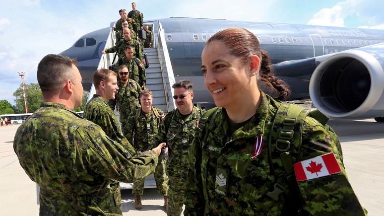 NZZ: устрашение России обернулось для Канады пиар-баталиями сразу на двух фронтах