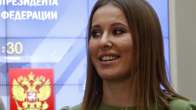Собчак проведет агитационную работу вКрыму
