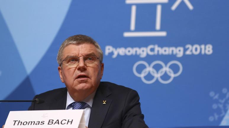 Deutschlandfunk оправдательный приговор русским олимпийцам сильно разочаровал главу МОК