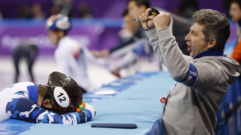 Шорт-трекист Елистратов стал первым русским призером Олимпиады