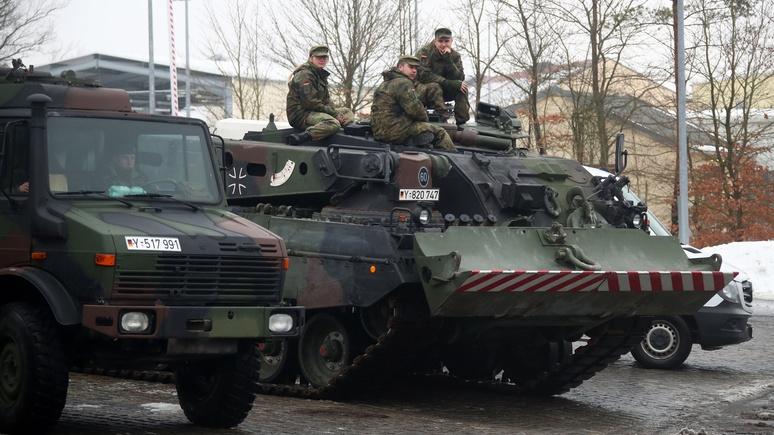Handelsblatt: Европа медленно продвигается к «военному Шенгену» и общей армии