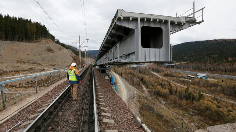 Kronen Zeitung: Москву и Вену сблизит железнодорожная колея