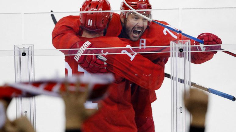 USA Today российские хоккеисты всухую обыграли американцев на Олимпиаде