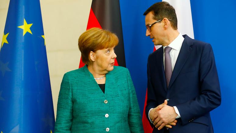 GW: визит премьера Польши не изменил симпатии Германии к «Северному потоку — 2»