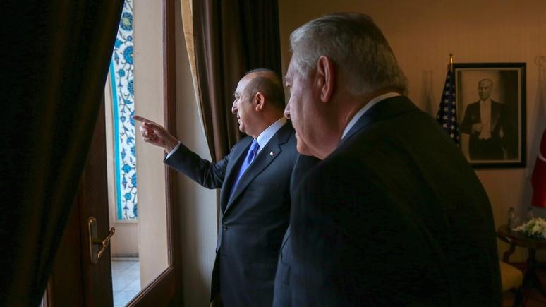 Asia Times: Сирия лишь «верхушка айсберга» противоречий между США и Турцией