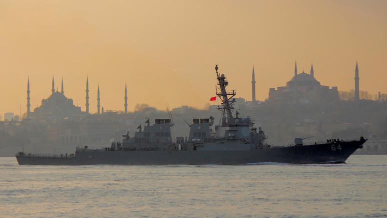 CNN: США собираются приучить Россию к своему присутствию в Чёрном море
