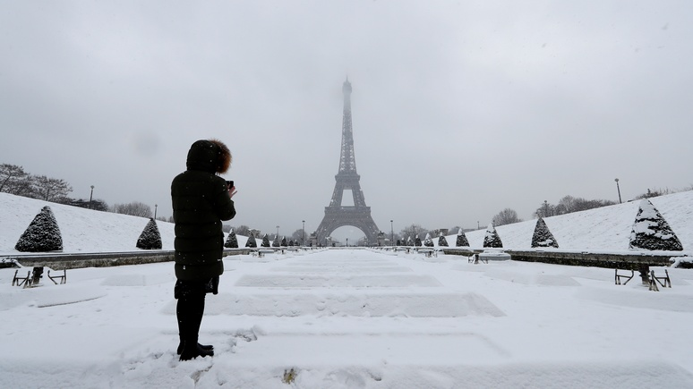 Ouest-France: французов пугают «сибирским холодом», но до Сибири им далеко