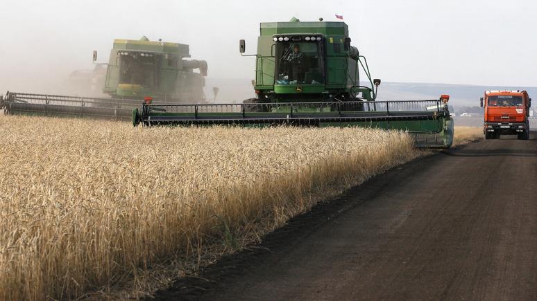 Bloomberg: Россия кормит пшеницей половину стран мира
