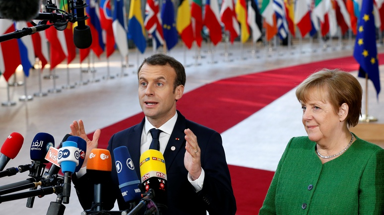 Contra Magazin: провал Меркель дал Макрону шанс стать лидером объединённой Европы