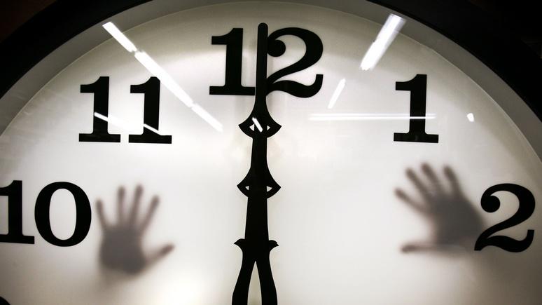 Вбольшинстве стран Европы замедлились электронные часы