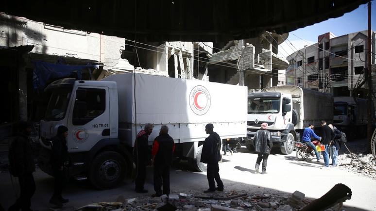 ZDF: ООН сочла сирийскую войну постыдным провалом мировой политики