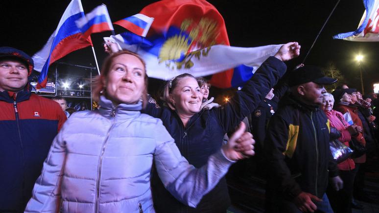 Times: продление санкций ЕС Путин «отметит» масштабным митингом в Крыму