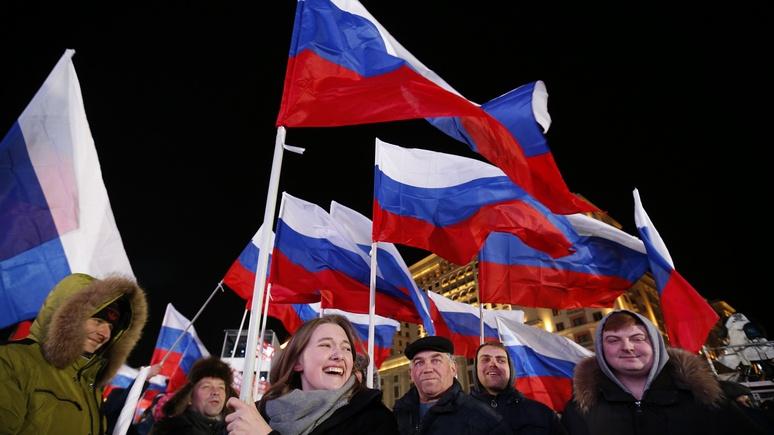 Der Spiegel: для россиян статус великой державы оказался важнее экономики