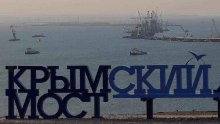 Stern: в строительстве Крымского моста Россия близка к рекорду