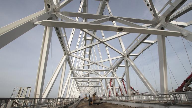 Обозреватель: на Украине представили план блокады Крымского моста