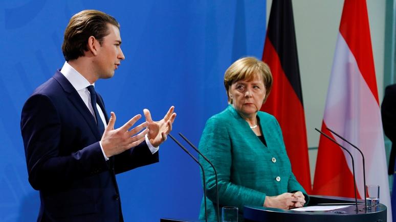 Contra Magazin: немецкие политики раскритиковали канцлера Австрии за отказ выслать российских дипломатов