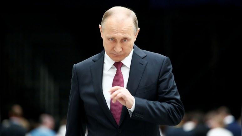 Обозреватель New York Times: Владимир Путин — самый влиятельный человек в мире