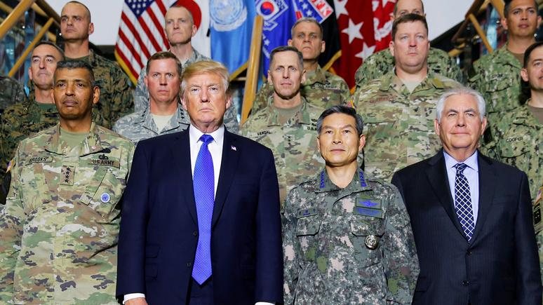 Американский генерал поддержал идею Трампа о выводе войск США из Сирии